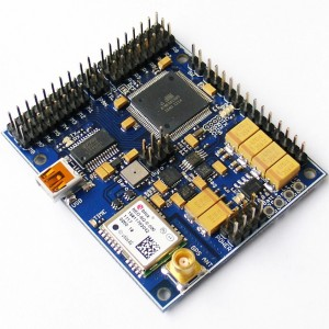 Black Vortex LC flight controller board for RC models