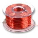 Single conductor wire reel  0.15mm for motor rewind. 35 meters one reel