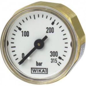 Wika 315 BAR Miniature Bourdon tube pressure gauge 111.12.027
