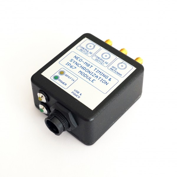 UBLOX NEO-M8T TIME & RAW data complete IP67 module 2