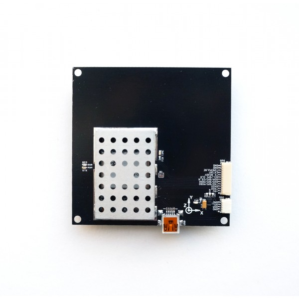 ZED-F9P RTK receiver board with MultiBand antenna L1 L2 +