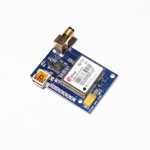 UBLOX LEA-6H GPS receiver module with Antenna
