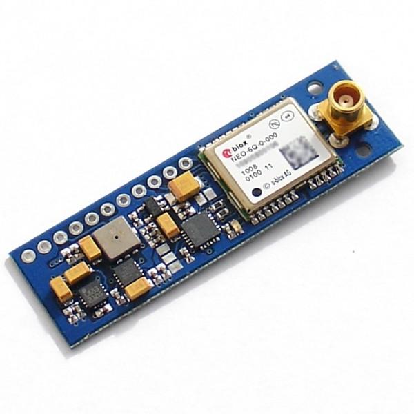 11DOF IMU 3 3V Board ITG3050 HMC5883L BMA180 BMP085 NEO-6Q